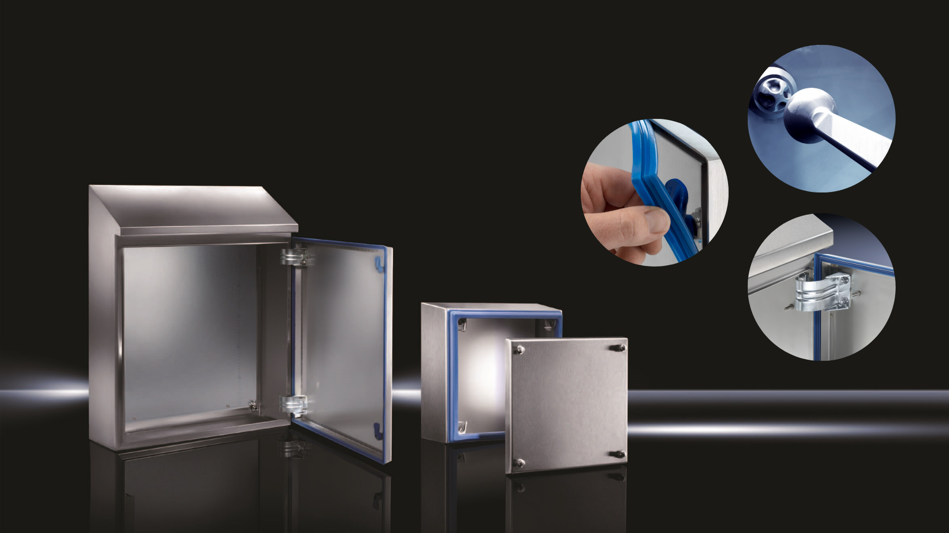 Rittal Hygienic design enclosure for food production