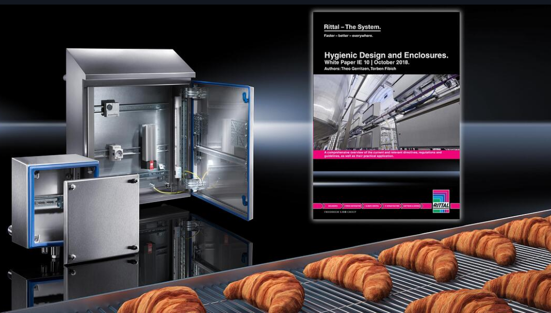 Rittal Hygienic design enclosure white paper for the food & beverage industry