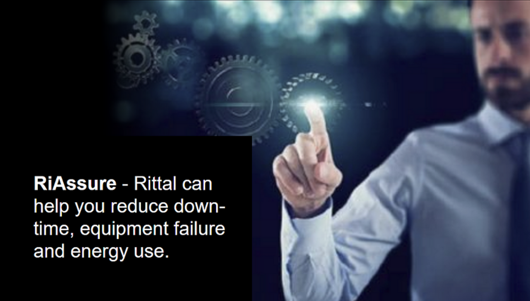 Rittal RiAssure service to reduce downtime