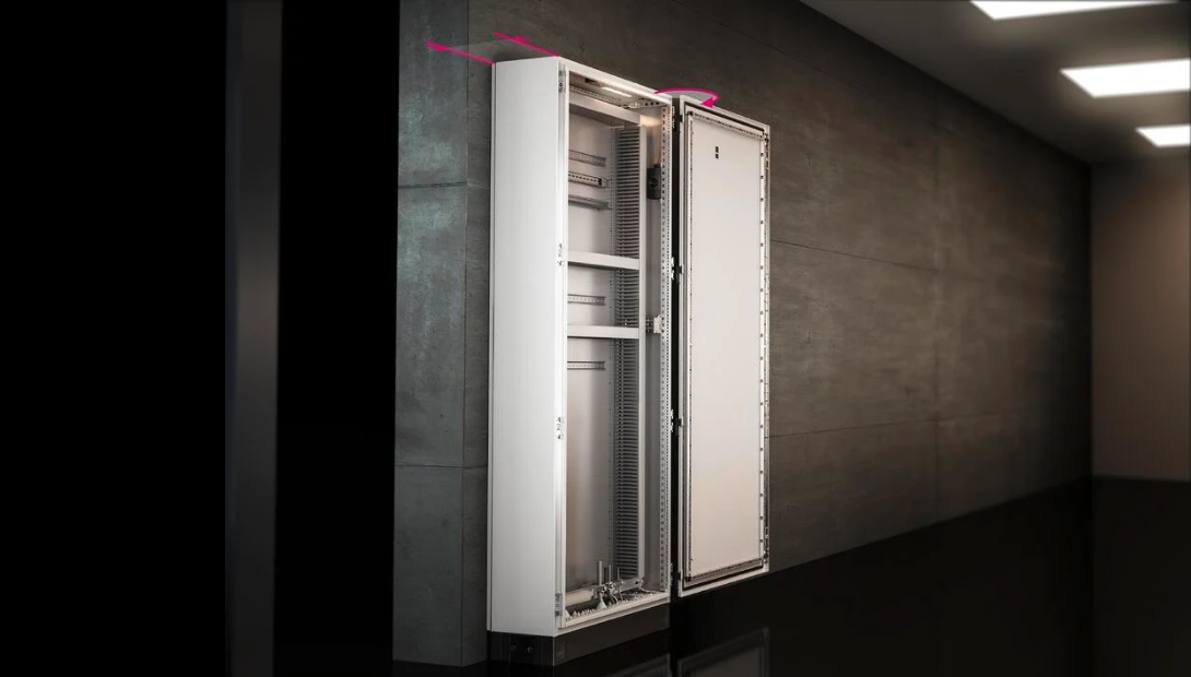 VX SE fre-standing enclosure by Rittal