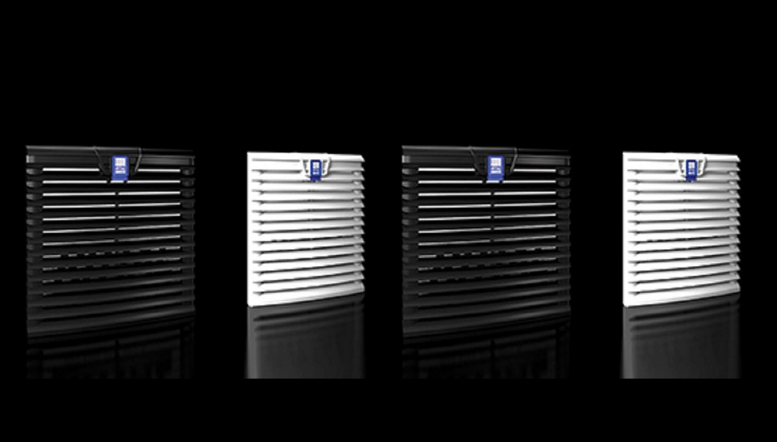 Rittal Liquid cooling options in black and white